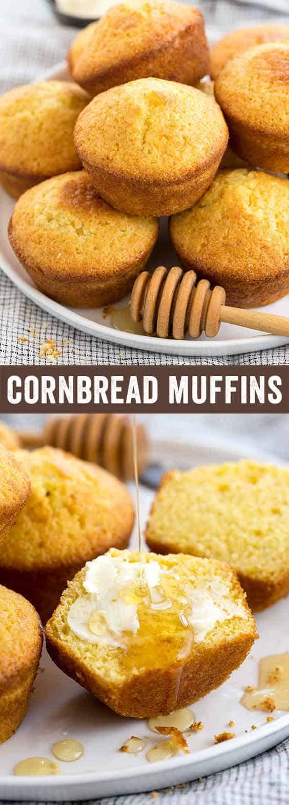 Cornbread Muffins Recipe  easy corn muffins recipe