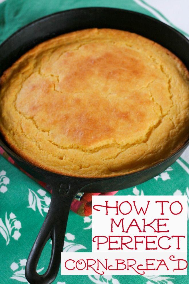 Cornbread Without Flour  Best 25 How to make cornbread ideas on Pinterest