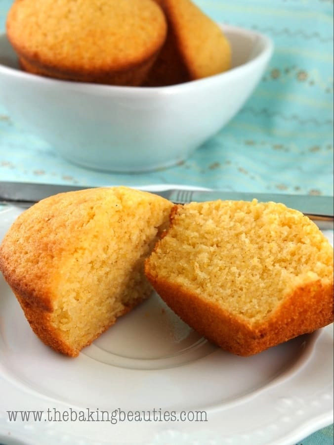Cornbread Without Flour  Gluten Free Buttermilk Cornbread Muffins Faithfully