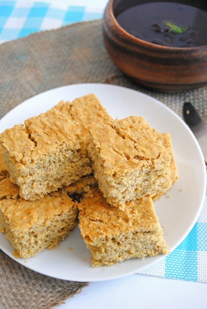 Cornbread Without Flour  Healthy Cornbread vegan gluten free