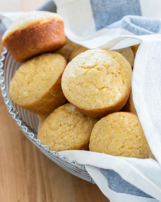 Cornbread Without Flour  Cornbread Muffins