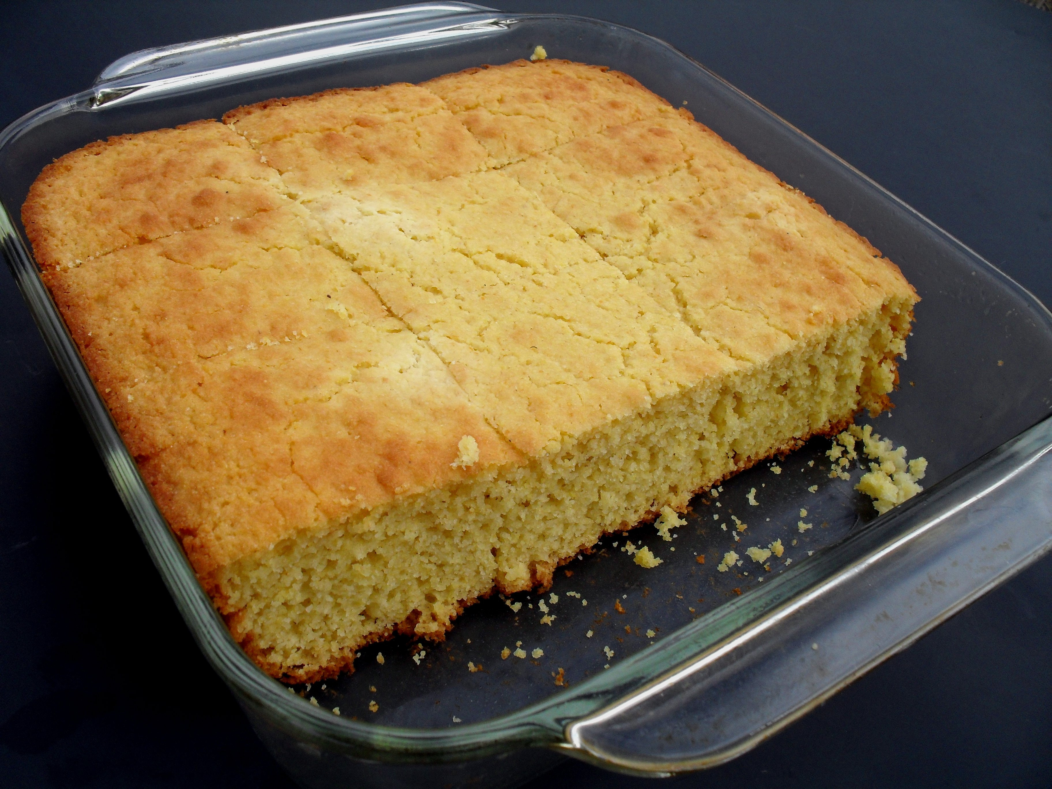 Cornbread Without Flour  1 Cornbread