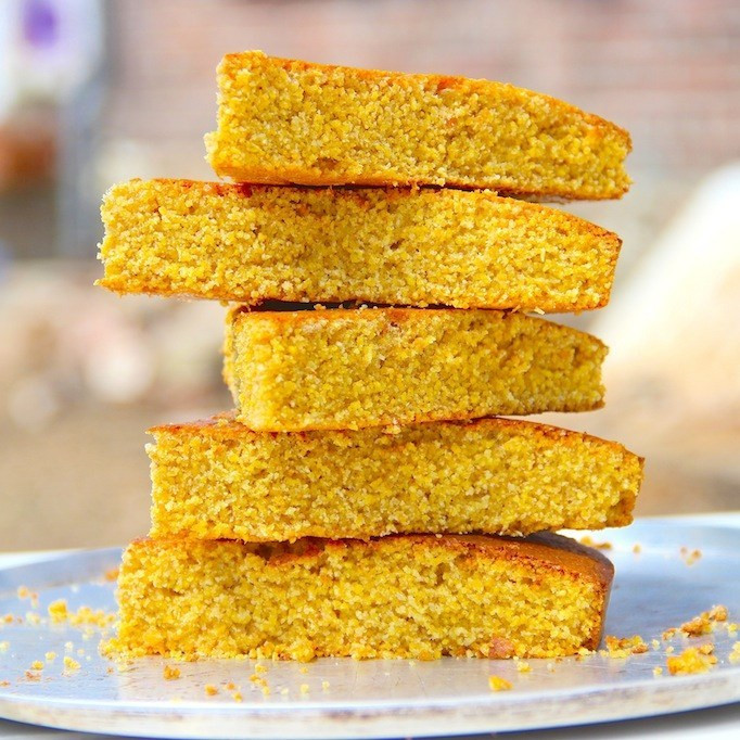 Cornbread Without Flour  A forting cornbread recipe that doesn t use corn meal