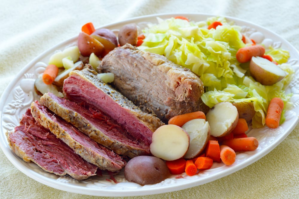 Corned Beef Brisket Slow Cooker For Sandwiches  Crock Pot Corned Beef Brisket with Ve ables Brooklyn