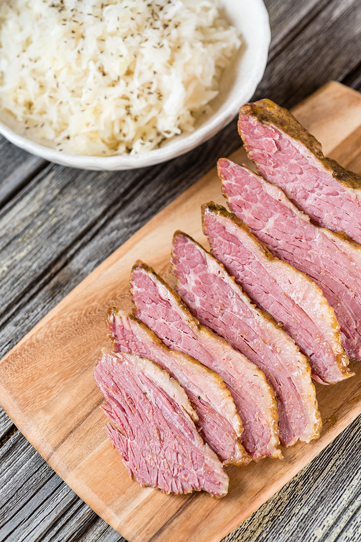 Corned Beef Brisket Slow Cooker For Sandwiches  Slow Cooked Corned Beef For Sandwiches Recipe — Dishmaps