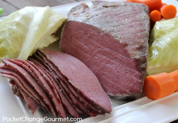 Corned Beef Brisket Slow Cooker  Classic Slow Cooker Corned Beef and Cabbage Recipe