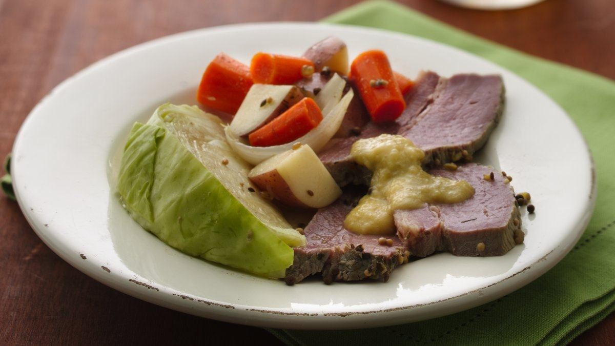 Corned Beef Cabbage Slow Cooker  Slow Cooker Corned Beef and Cabbage Life Made Delicious