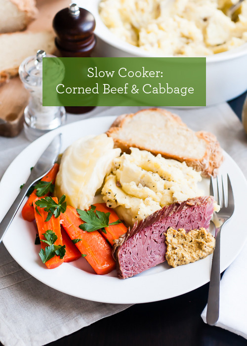 Corned Beef Cabbage Slow Cooker  Slow Cooker Recipe Corned Beef and Cabbage ⋆ Design Mom