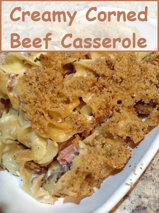 Corned Beef Casserole  fort Food Creamy Corned Beef Casserole Recipe