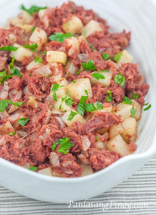 Corned Beef Casserole  Corned Beef and Potato Casserole Panlasang Pinoy