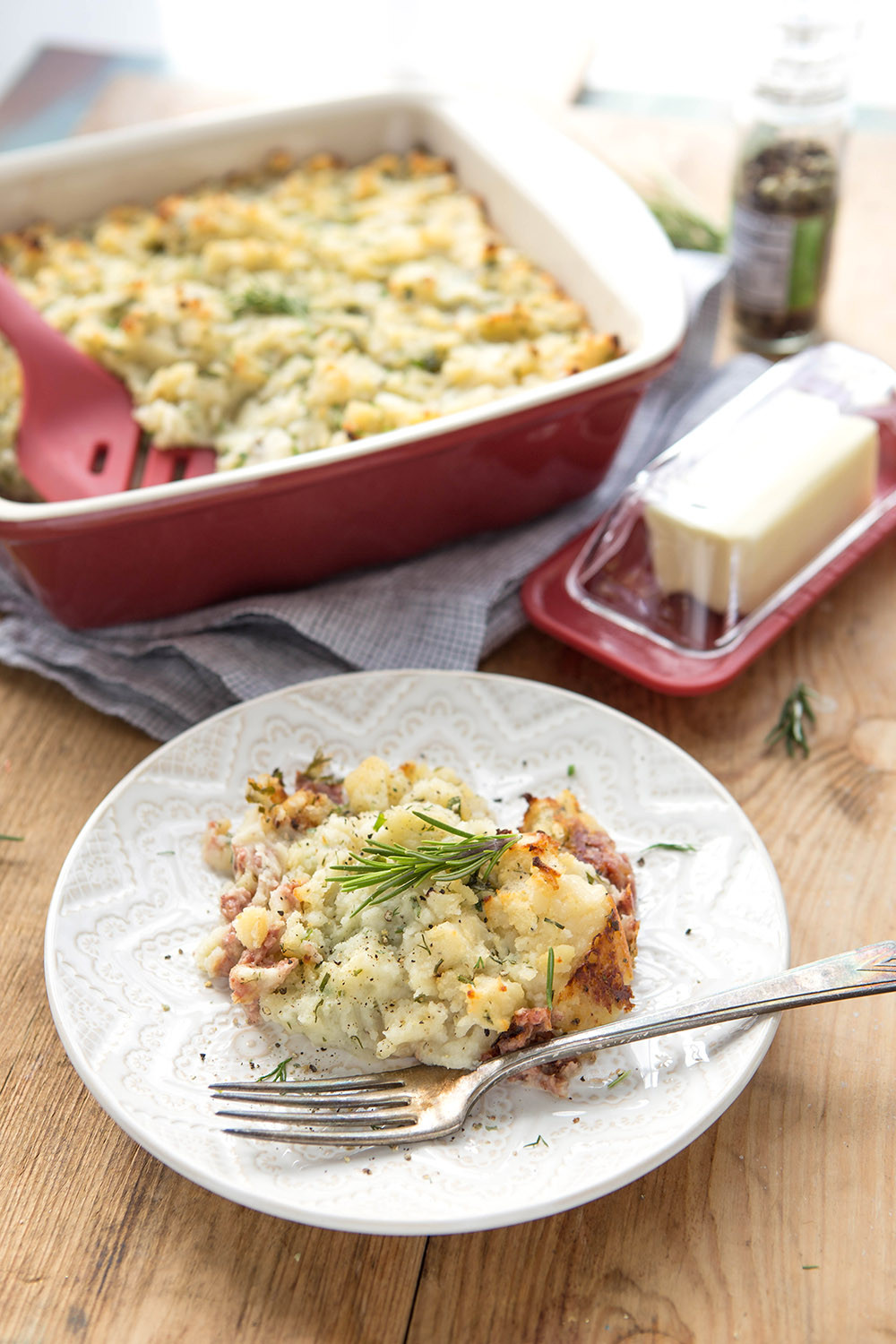 Corned Beef Casserole  Corned Beef and Colcannon Casserole Good Cook Good Cook