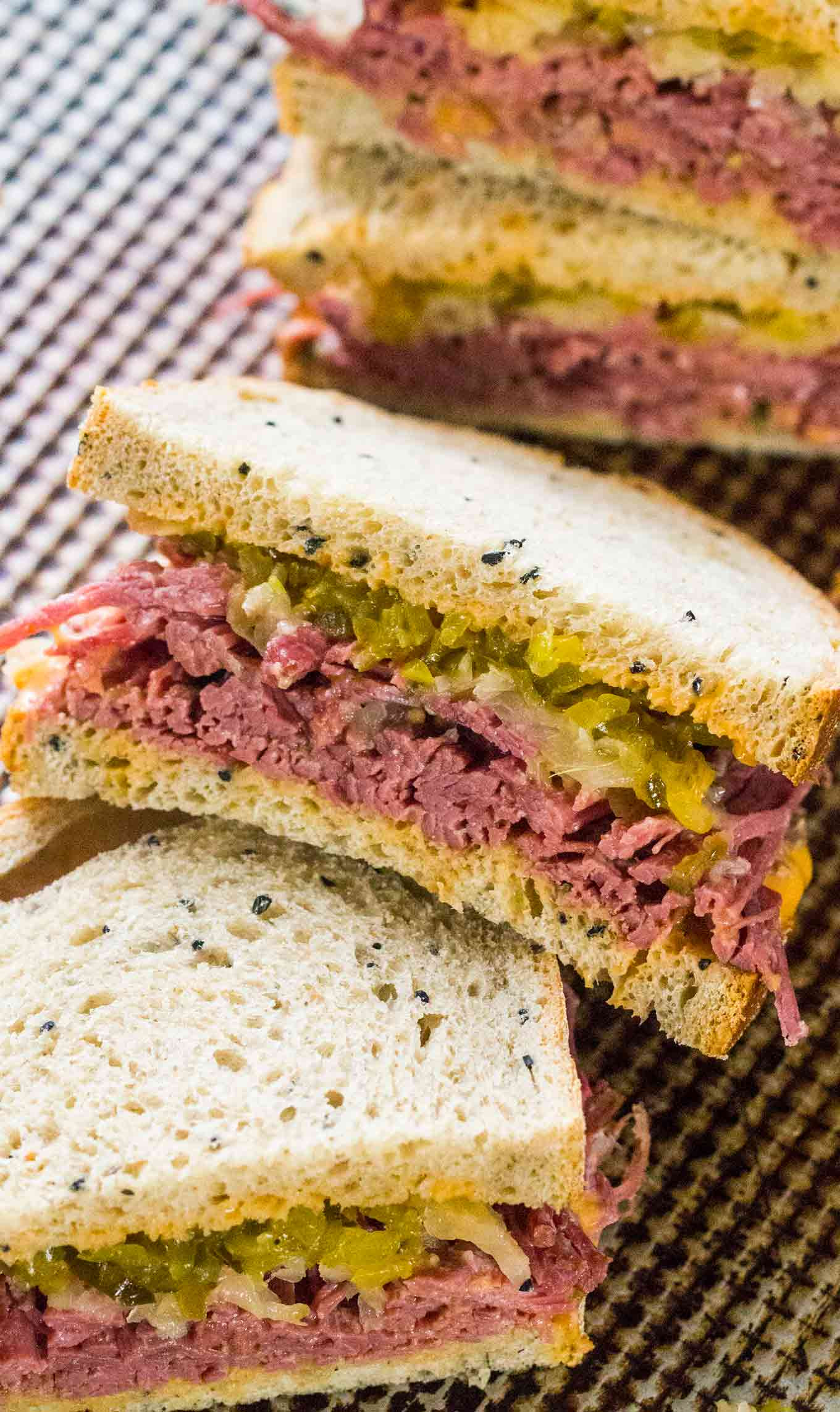 Corned Beef Sandwiches  Corned Beef Sandwiches Sweet and Savory Meals