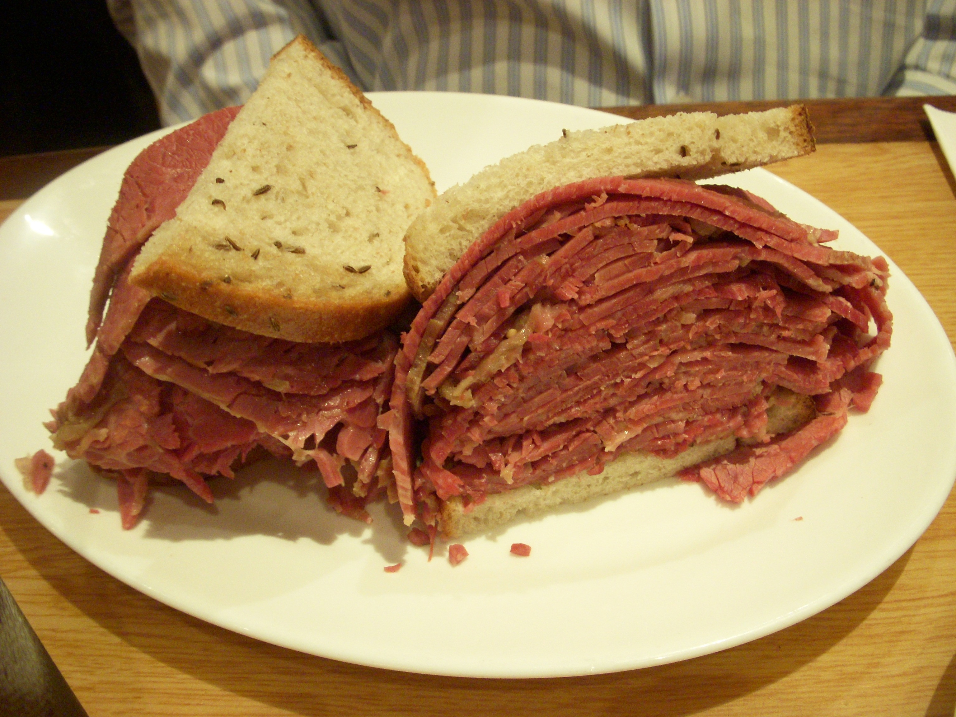 Corned Beef Sandwiches  Deli Two Fat Bellies