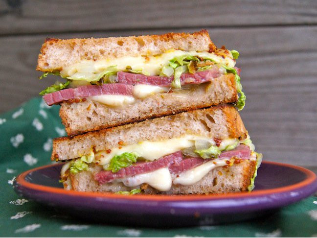 Corned Beef Sandwiches  Corned Beef Grilled Cheese Sandwich Recipe