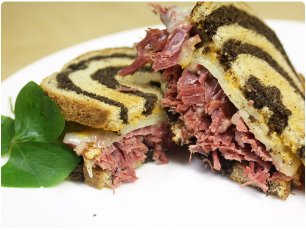 Corned Beef Sandwiches  Slow Cooker Corned Beef Sandwiches