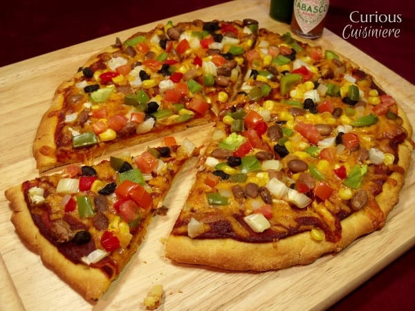 Cornmeal Pizza Crust  cornmeal pizza crust