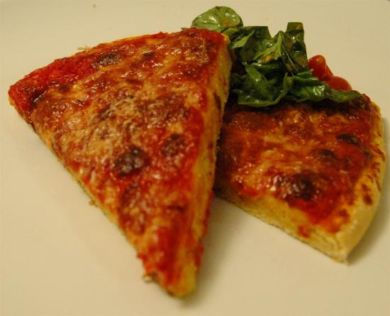 Cornmeal Pizza Crust  52 Weeks of Baking Four Cheese Pizza with Cornmeal Crust