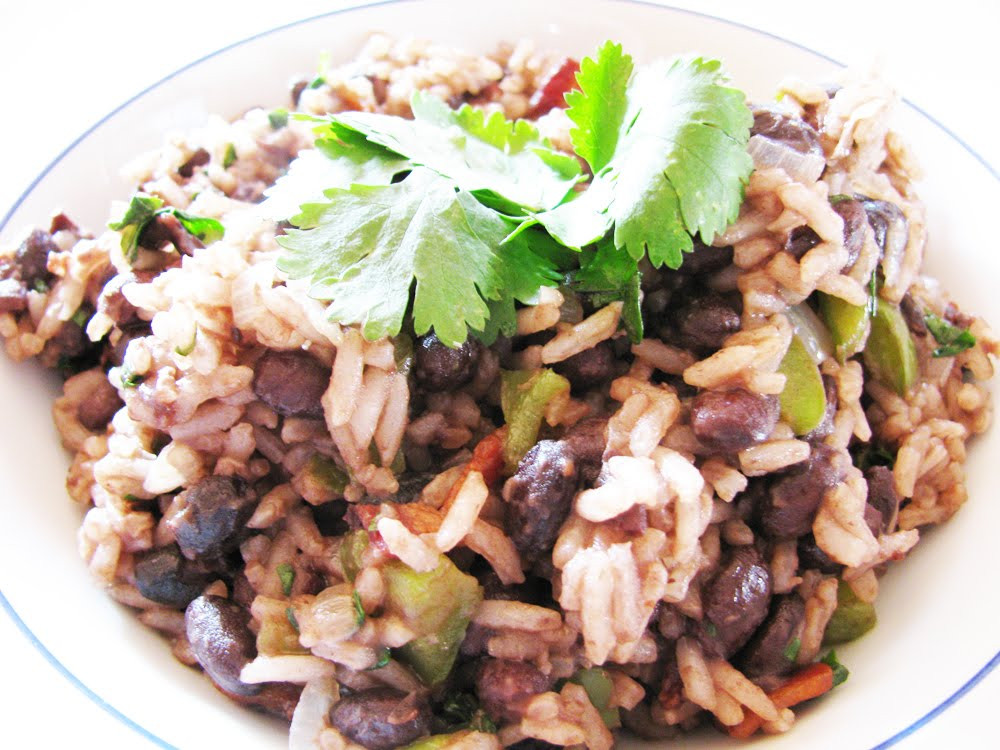 Costa Rican Rice And Beans  The World in My Kitchen Gallo Pinto Costa Rican Rice and