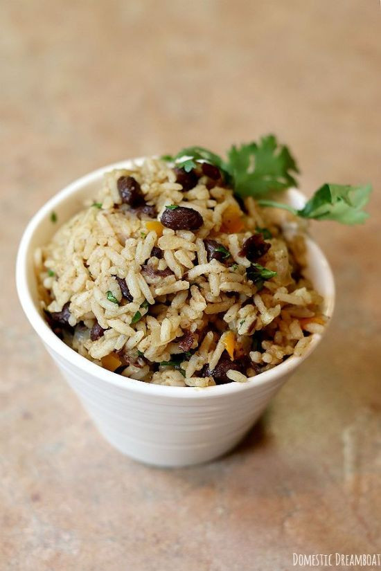 Costa Rican Rice And Beans  Costa Rican Beans and Rice