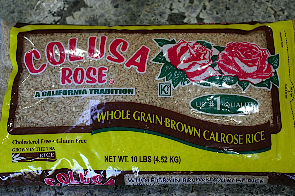 Costco Brown Rice  FOODjimoto Barley Brown Rice with Grilled Peppers Salted