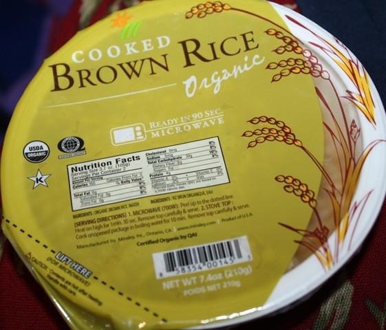 Costco Brown Rice  Last To Cross