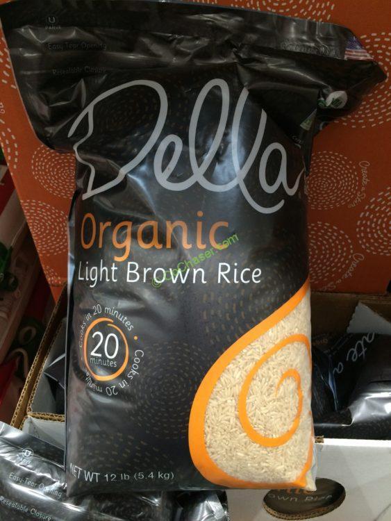 Costco Brown Rice  Della Organic Brown Rice 12 Pound Bag – CostcoChaser