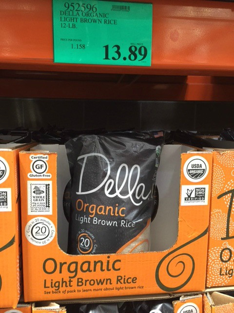 Costco Brown Rice  Costco New Organic Products I Found May 2016 Natural