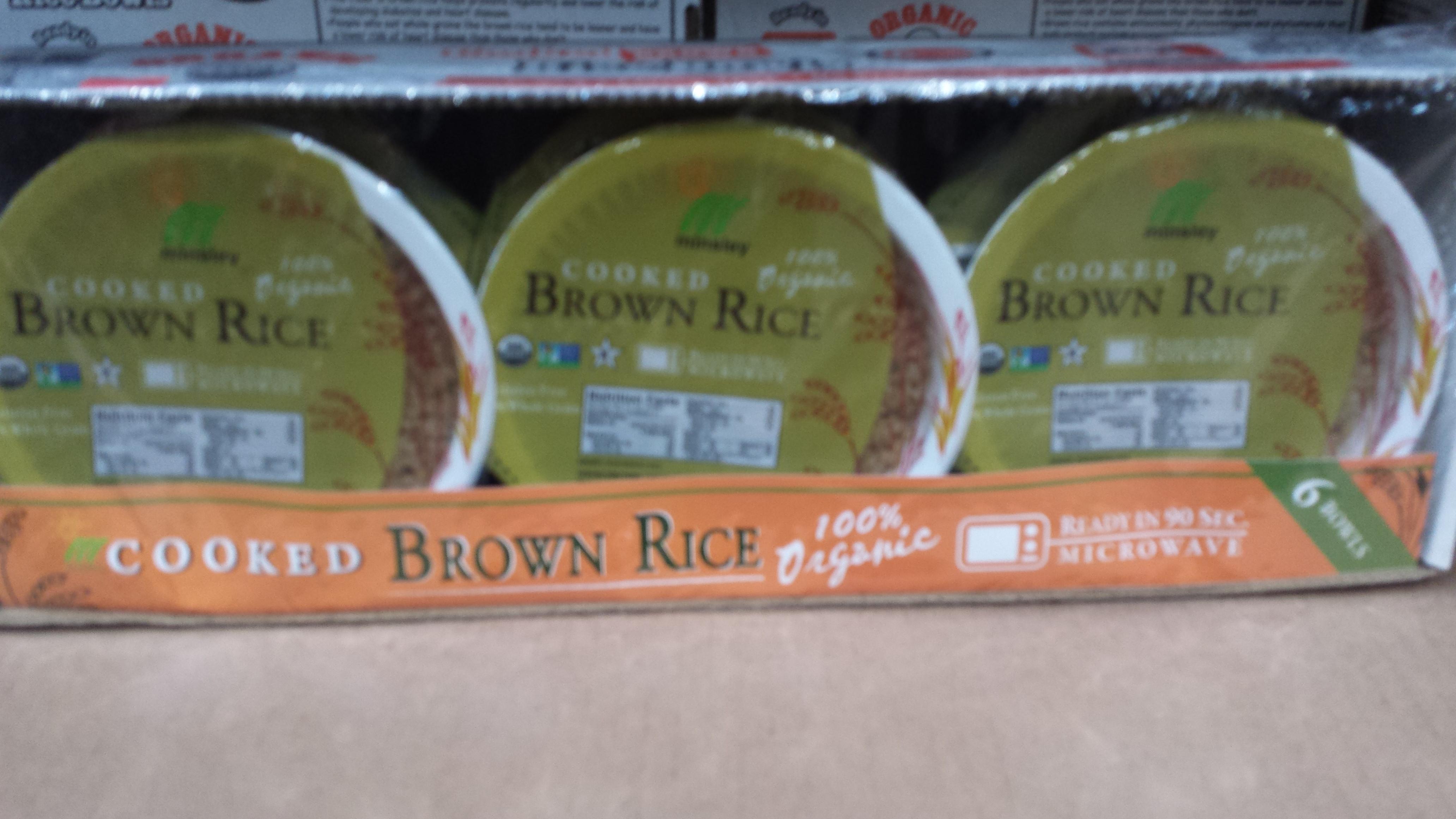 Costco Brown Rice  Costco List Maria Faires RD