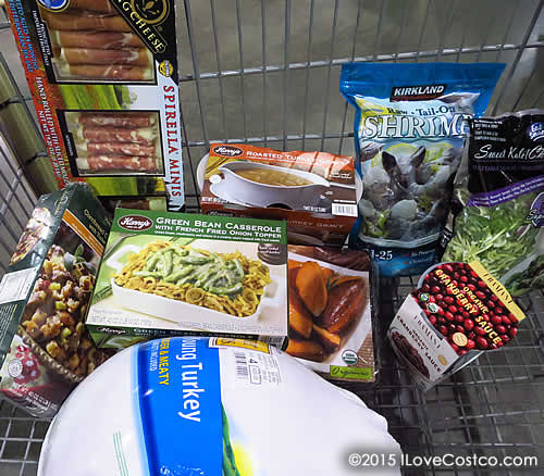 Costco Thanksgiving Dinner 2018  Costco Shopping for Thanksgiving Dinner