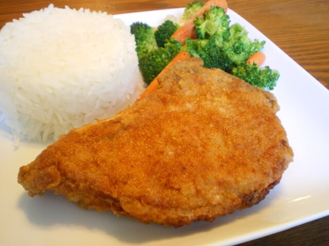Country Fried Pork Chops  Breaded Pork Chop Recipe