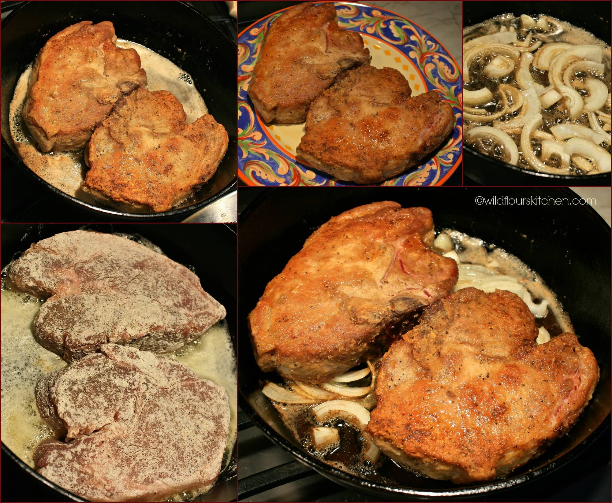 Country Fried Pork Chops  Southern Fried Pork Chops with Country Gravy Wildflour s