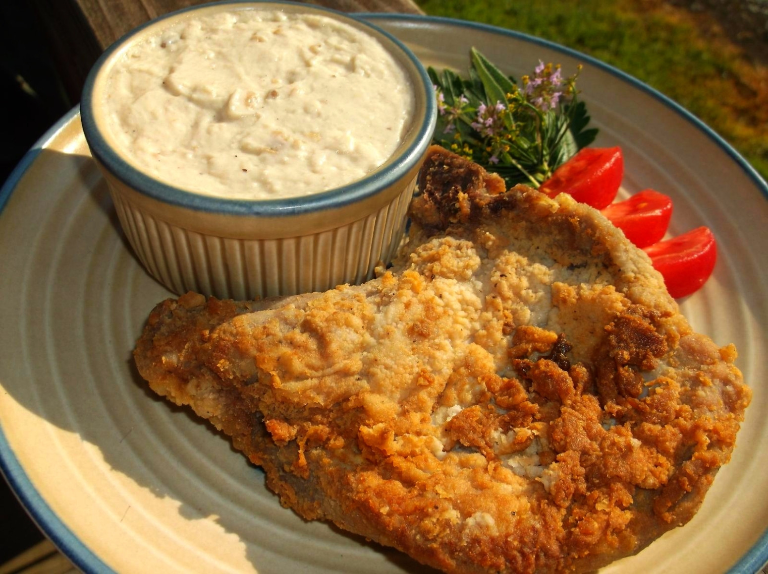 Country Fried Pork Chops  COUNTRY FRIED PORK CHOPS WITH CREAMY MILK GRAVY Recipe