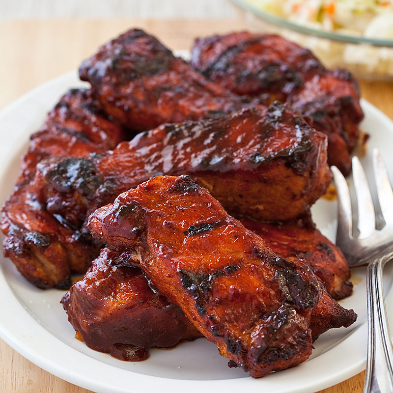 Country Pork Ribs  Barbecued Country Style Ribs