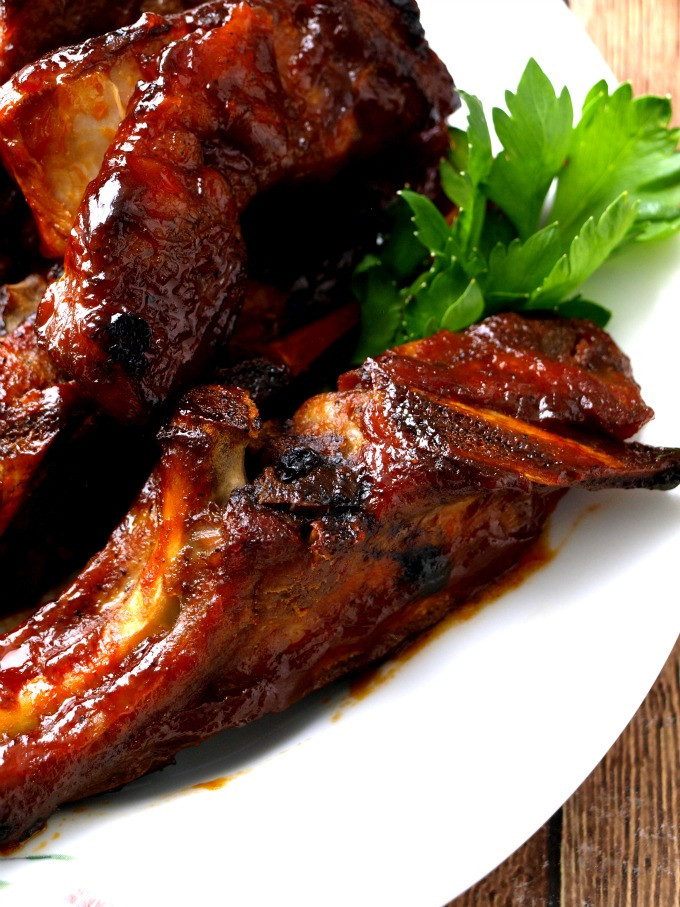 Country Style Pork Ribs Recipe  oven baked country style pork ribs