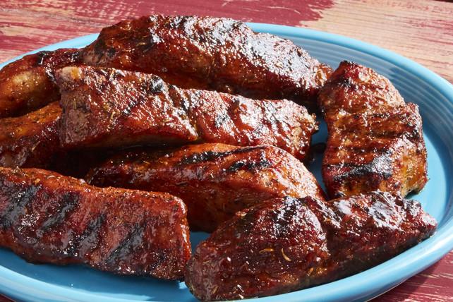 Country Style Pork Ribs Recipe  Carolina BBQ Country Style Pork Ribs Kraft Recipes