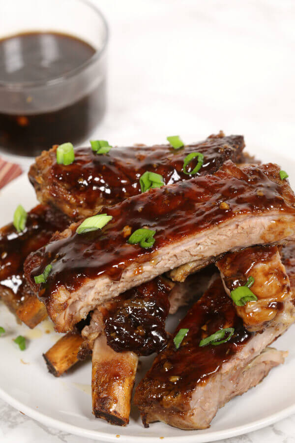 Country Style Pork Ribs Slow Cooker Beer  hoisin ribs slow cooker