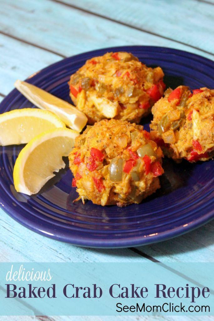 Crab Cake Recipe  baked crab cake recipe food network
