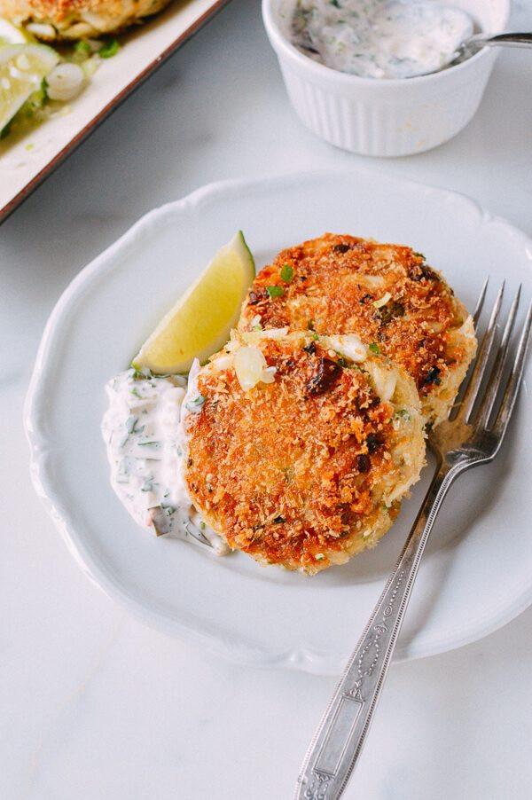 Crab Cake Recipe Panko  Sesame Panko Crab Cakes