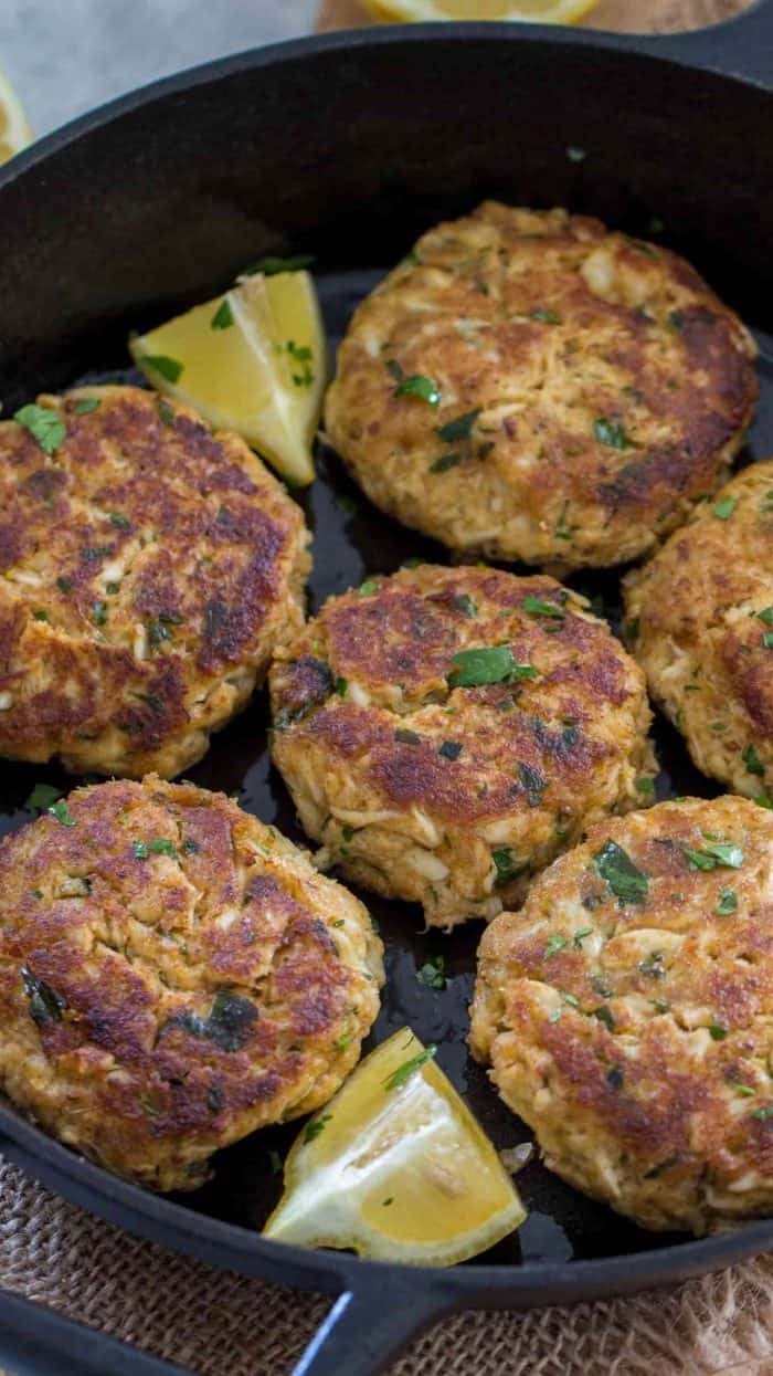 Crab Cake Recipe  Easy Crab Cakes Spend With Pennies