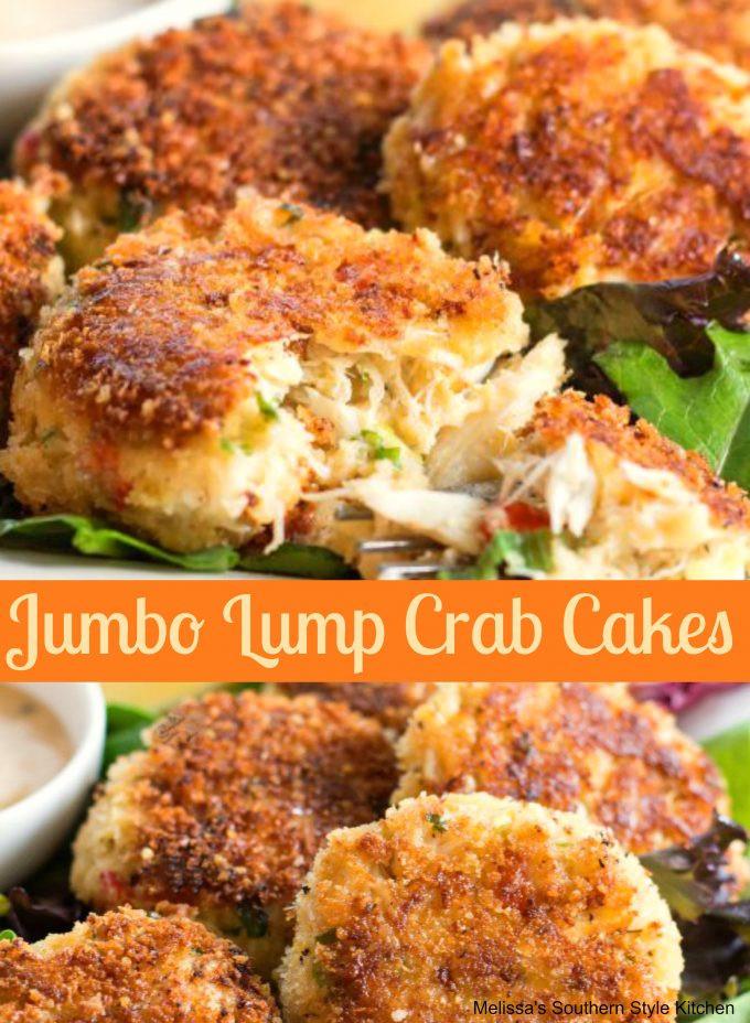 Crab Cake Recipe  Jumbo Lump Crab Cakes Recipe — Dishmaps