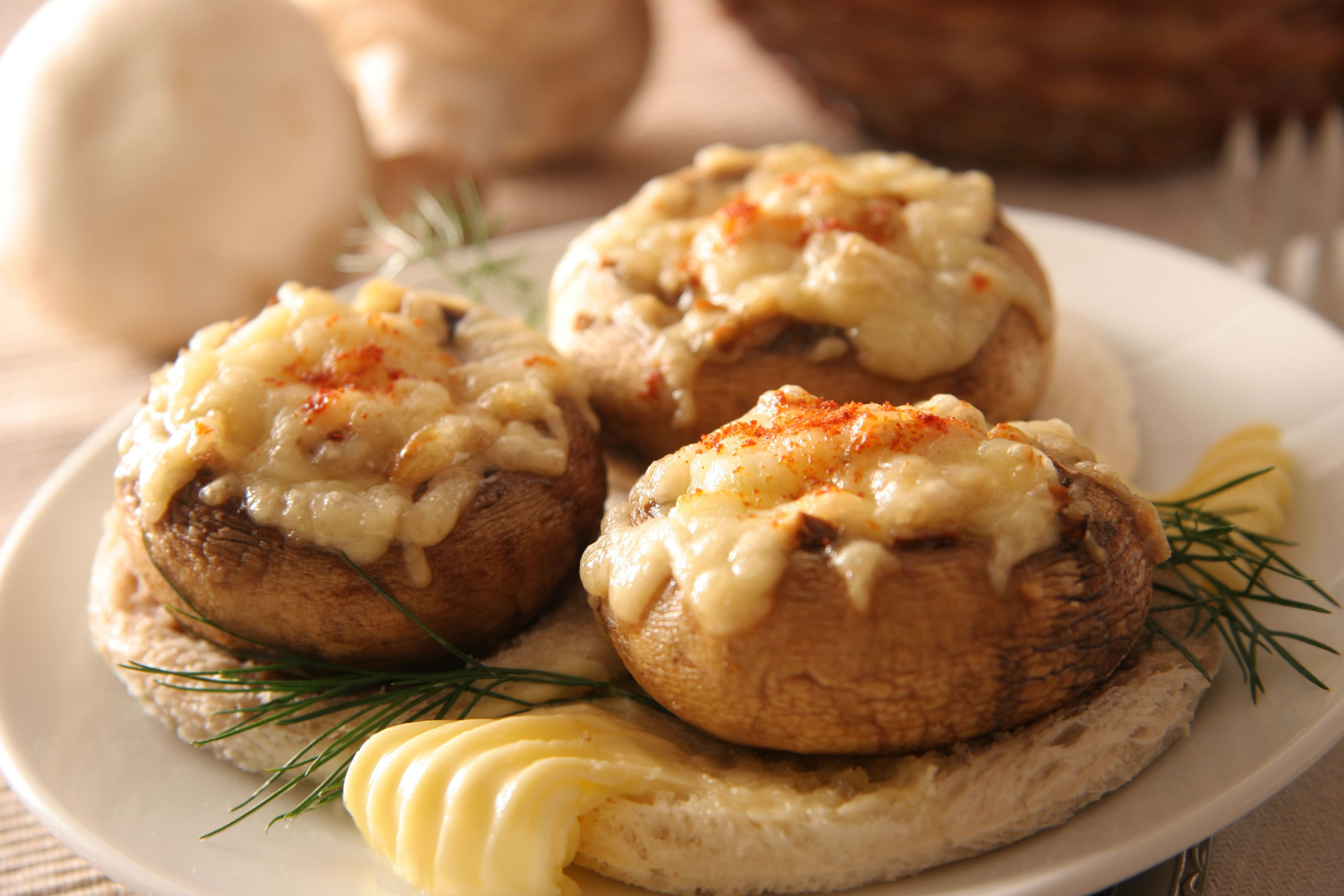 Crab Stuffed Mushroom Recipe  Carefree Cocktail Party Tips and Recipes