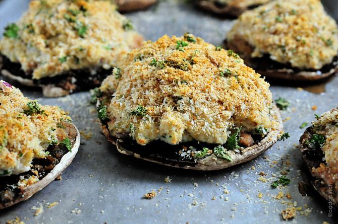 Crab Stuffed Mushroom Recipe  Crab Stuffed Mushrooms Recipe Add a Pinch