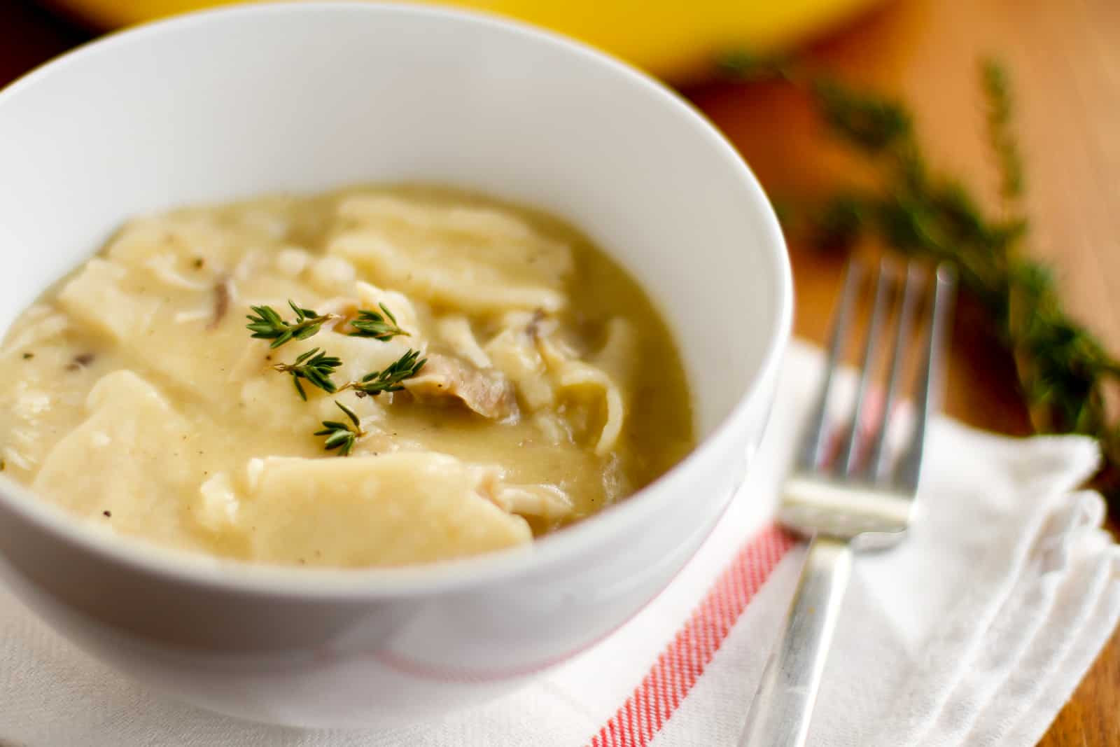 Cracker Barrel Chicken And Dumplings Recipe  Homemade Chicken and Dumplings Recipe