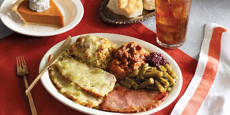 Cracker Barrell Thanksgiving Dinner  Turkey n Dressing Meal
