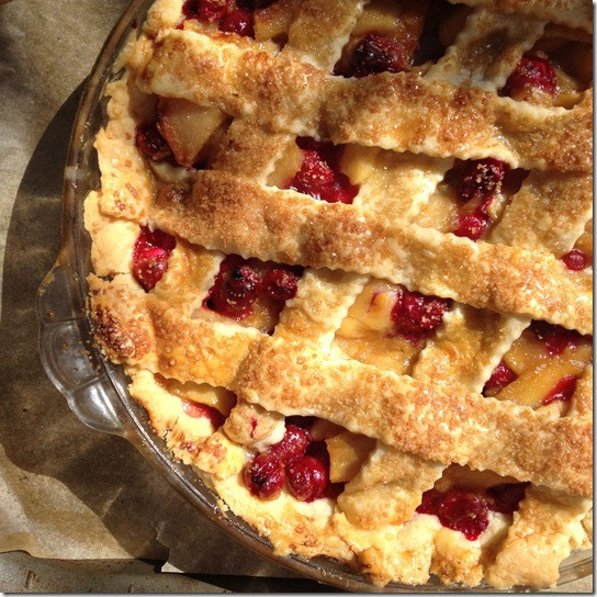 Cranberry Apple Pie  Cranberry Apple Pie Savoring Italy