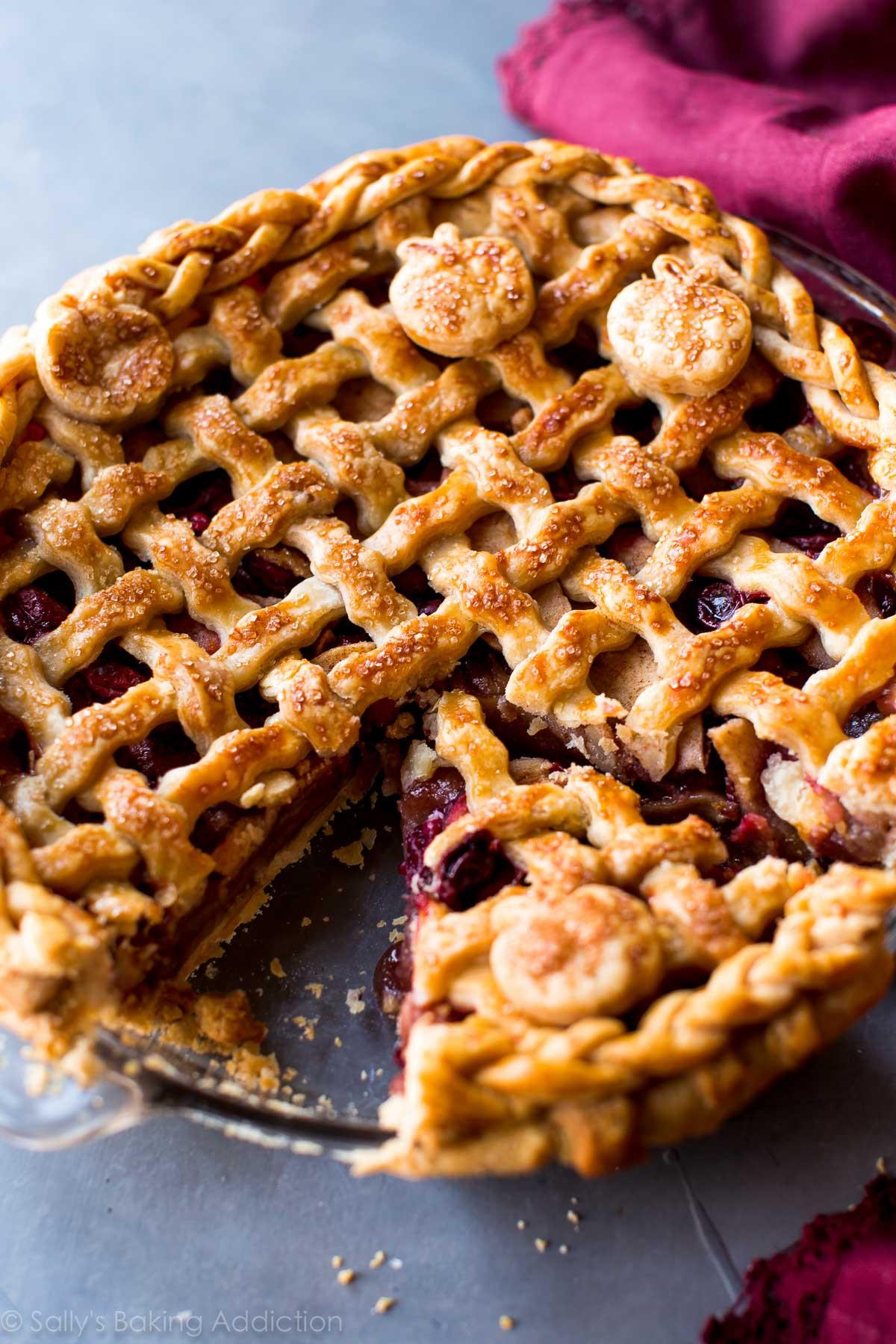 Cranberry Apple Pie  Apple Cranberry Pie