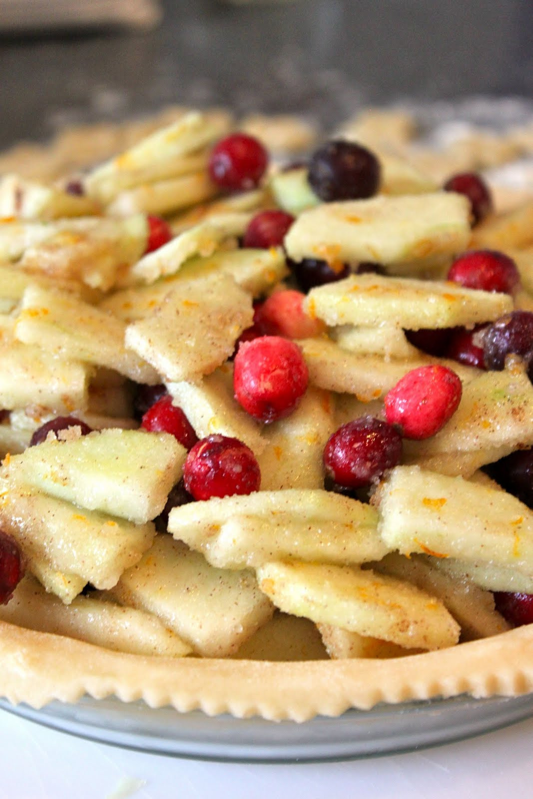 Cranberry Apple Pie  Baked Perfection Cranberry Apple Pie