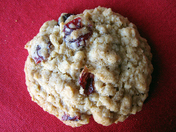 Cranberry Oatmeal Cookies  Oatmeal Cranberry Cookies Recipe