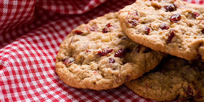 Cranberry Oatmeal Cookies  Oatmeal Raisin Cranberry Cookies