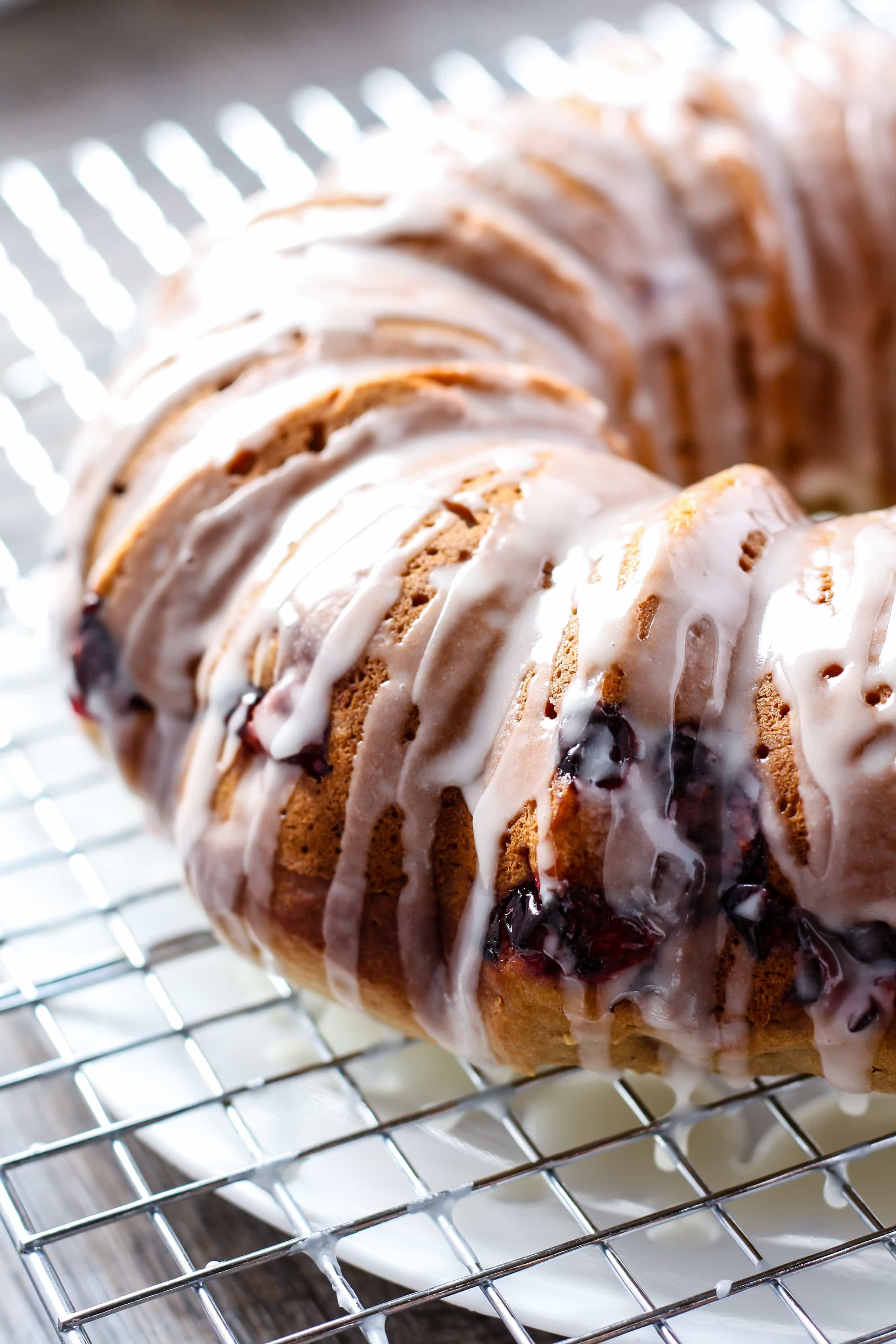 Cranberry Orange Bundt Cake  Healthier Cranberry Orange Bundt Cake • Fit Mitten Kitchen